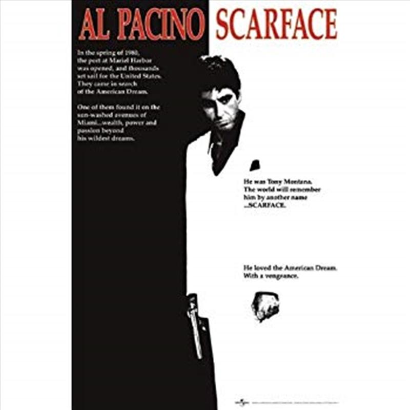 Scarface – Black & White | Merchandise