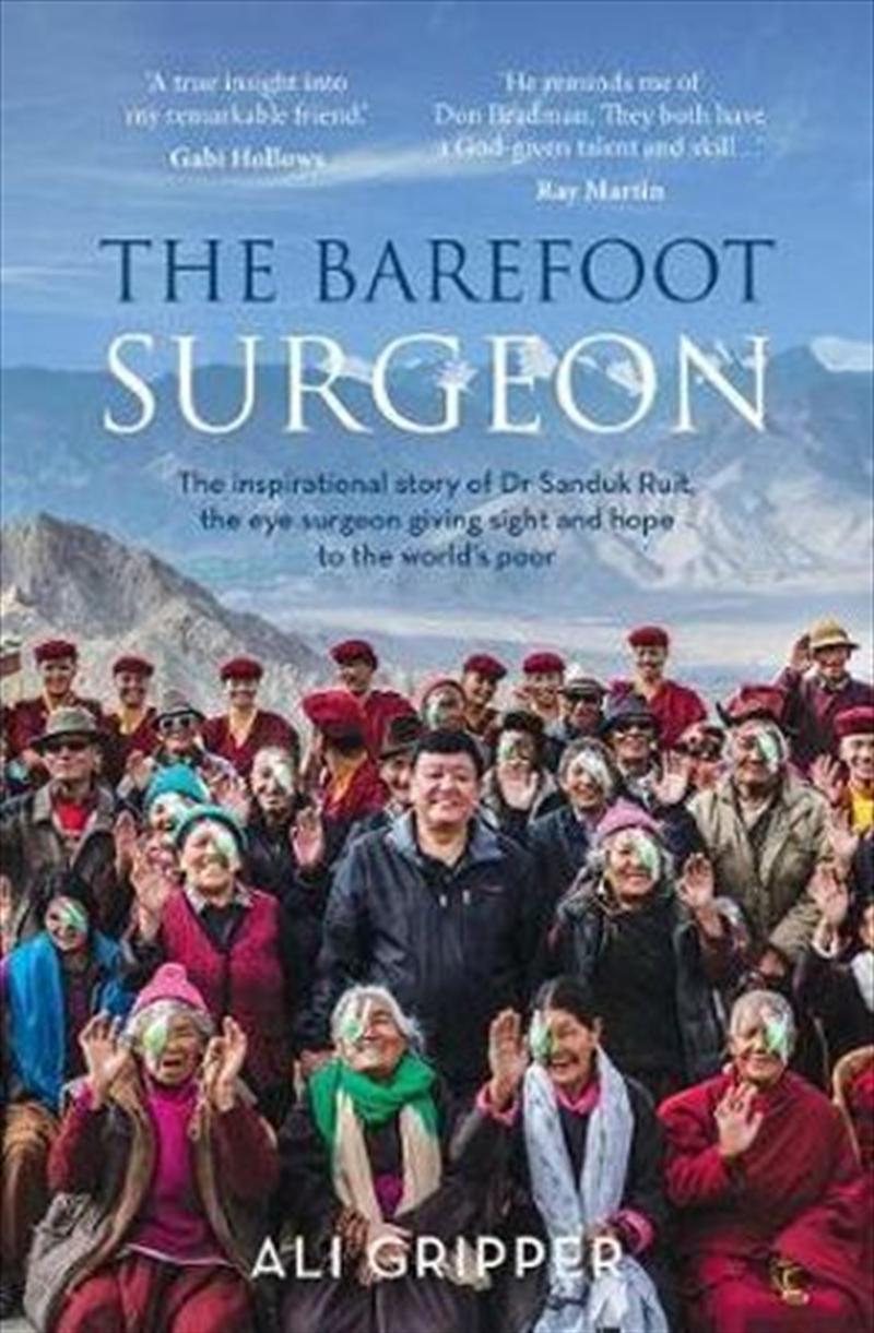 Barefoot Surgeon | Paperback Book