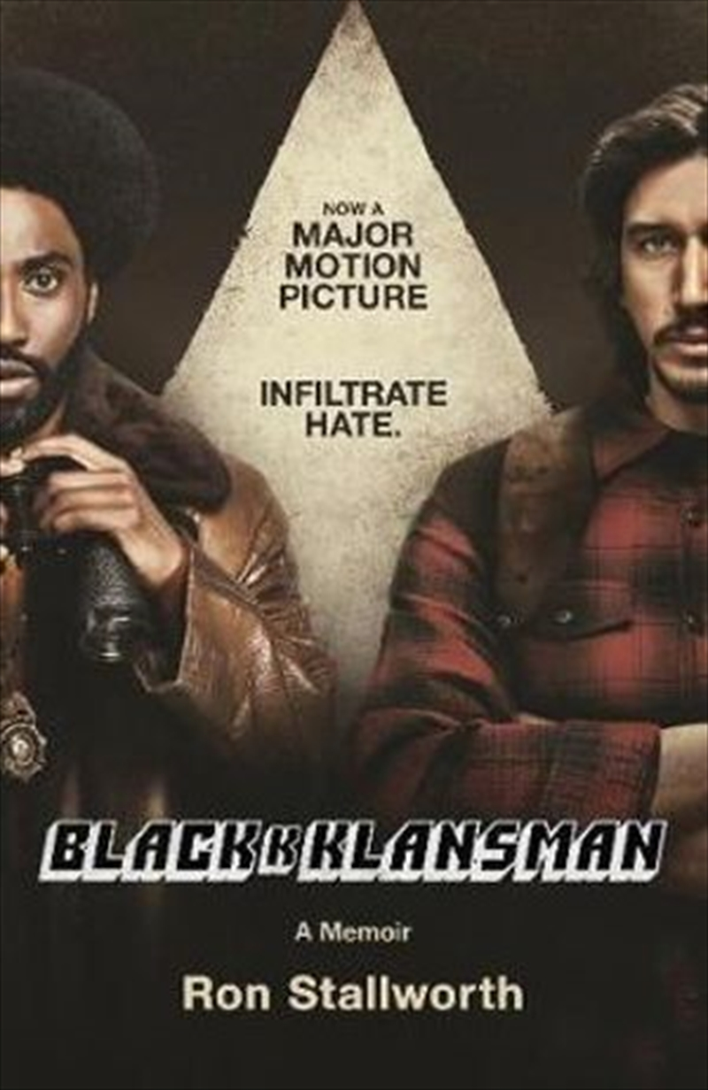 Black Klansman NOW A MAJOR MOTION PICTURE | Paperback Book