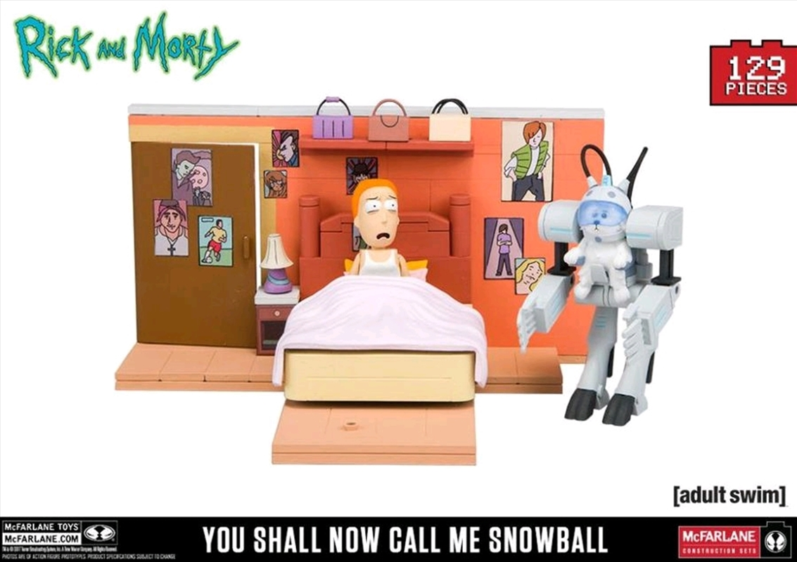 Rick and Morty - You Shall Now Call Me Snowball Construction Set | Collectable