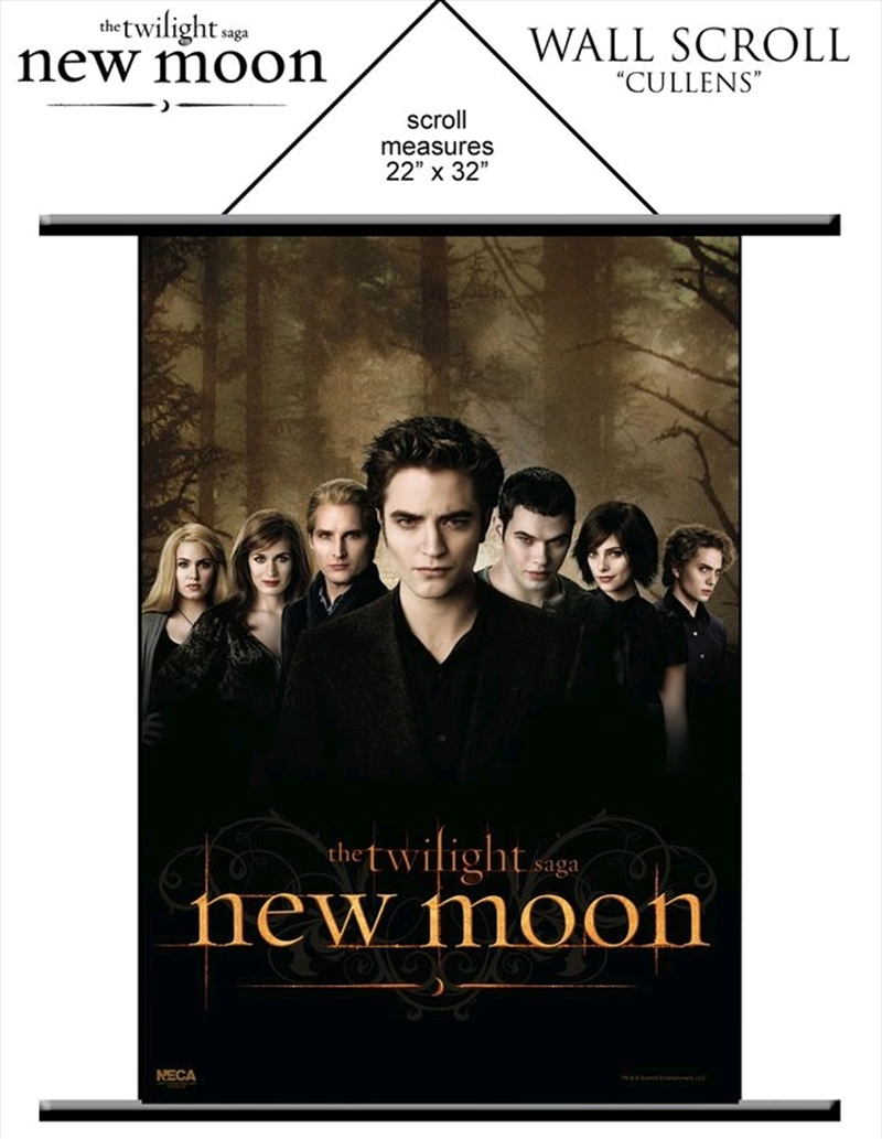 The Twilight Saga: New Moon - Wall Scroll The Cullens | Merchandise
