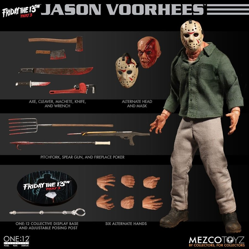Friday the 13th - Jason One:12 Collective Action Figure   Merchandise