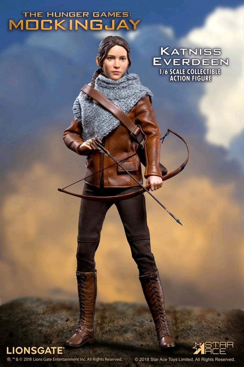 """Hunger Games - Katniss (Hunting version) 12"""" 1:6 Scale Action Figure 