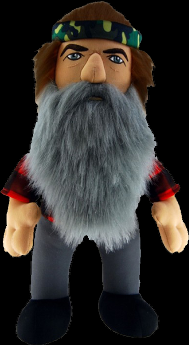 """Duck Dynasty - 24"""" Phil Plush with Sound 