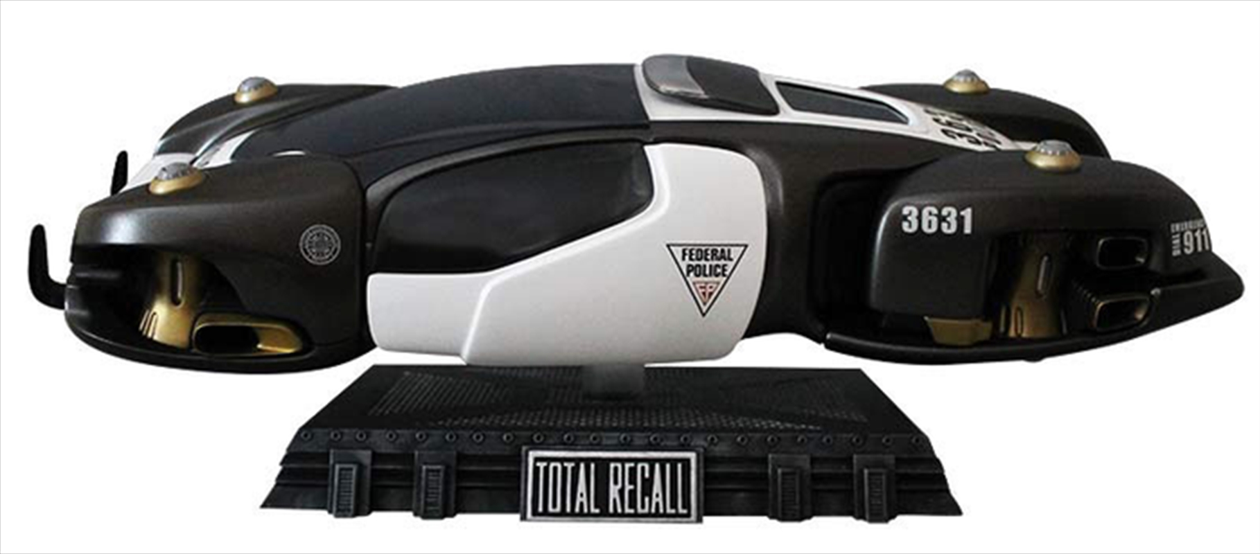 Total Recall - Flying Police Car Replica (2012) | Collectable
