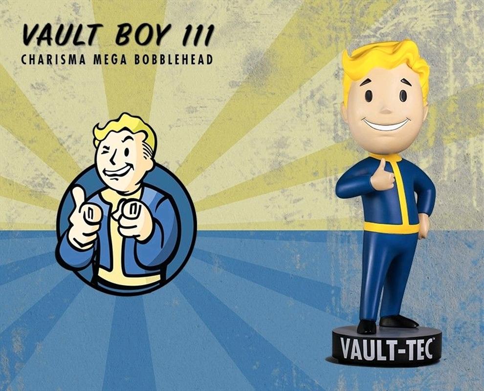 Fallout 4 - Vault Boy 111 Charisma Mega Bobblehead | Merchandise