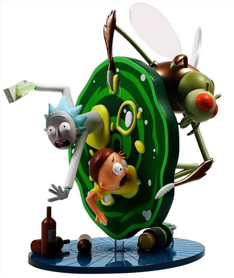 Rick and Morty - Medium Figure   Merchandise