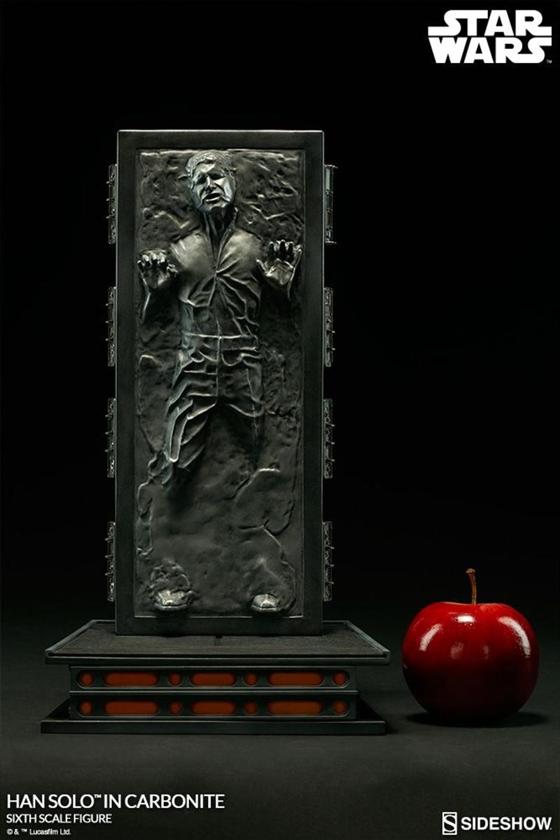 "Star Wars - Han Solo in Carbonite 12"" Figure   Merchandise"