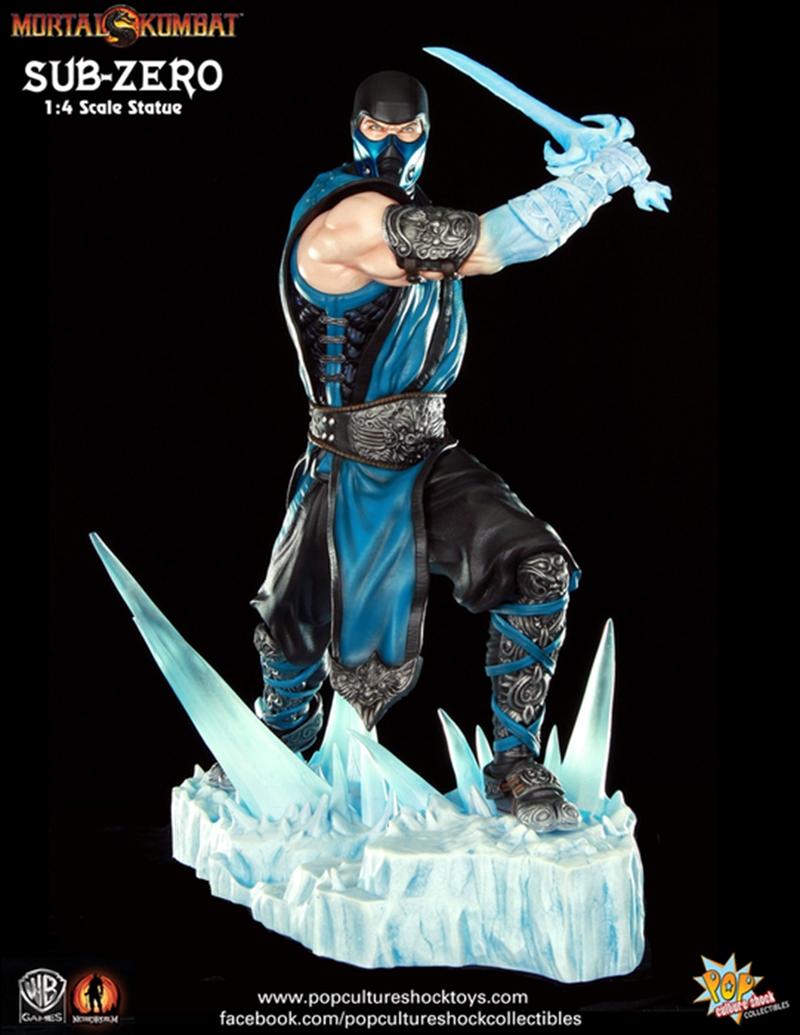 Mortal Kombat - Sub Zero 1:4 Scale Statue | Merchandise