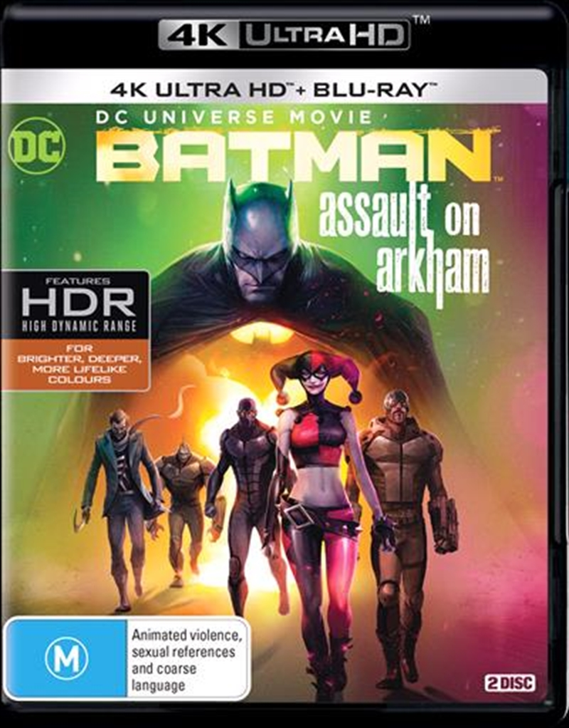Batman - Assault On Arkham | UHD