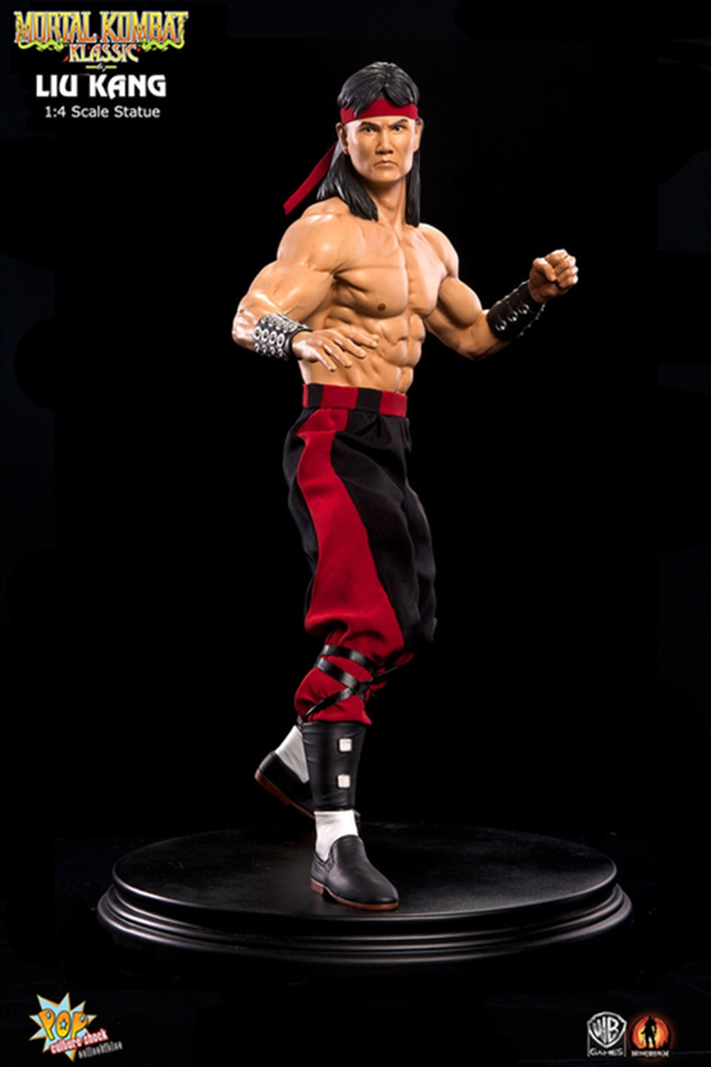 Mortal Kombat - Liu Kang 1:4 Scale Statue   Merchandise