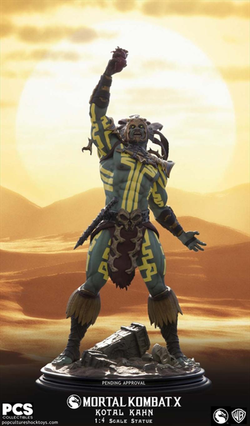 Mortal Kombat X - Kotal Khan Sun God 1:4 Scale Statue   Merchandise