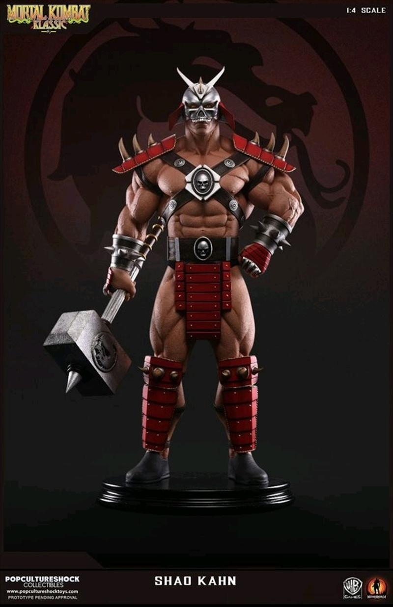 Mortal Kombat - Shao Kahn 1:4 Scale Statue | Merchandise