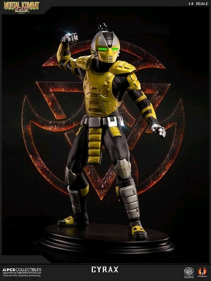 Mortal Kombat - Klassic Cyrax 1:4 Scale Statue | Merchandise