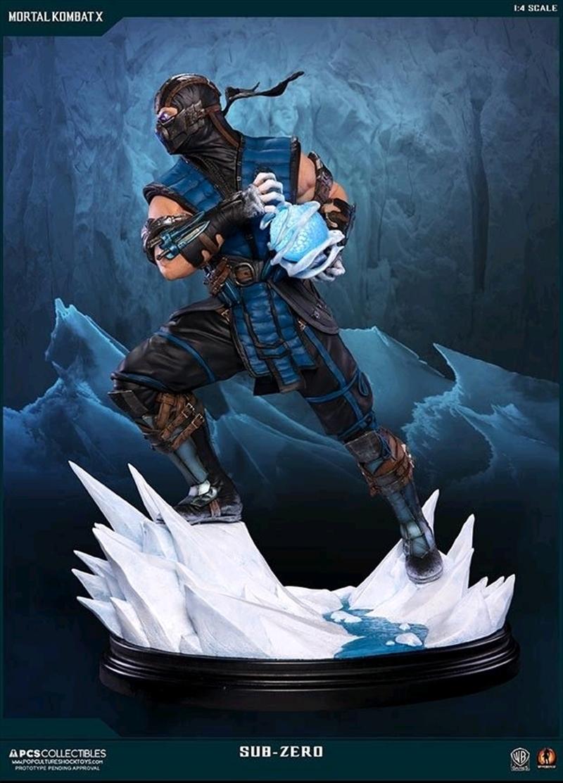 Mortal Kombat X - Sub-Zero 1:4 Scale Statue | Merchandise