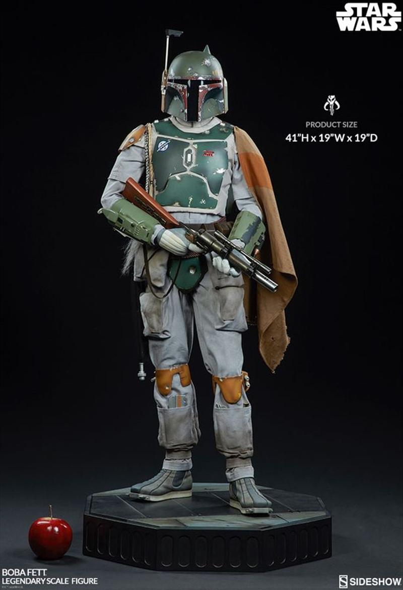 Star Wars - Boba Fett Legendary 1:2 Scale Statue   Merchandise
