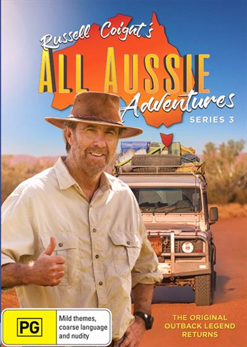 Russell Coight's All Aussie Adventure - Series 3 | DVD
