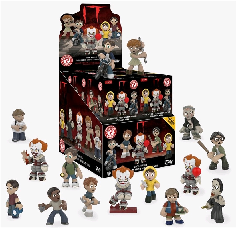 It (2017) - Mystery Minis HT US Exclusive Blind Box [RS] | Toy