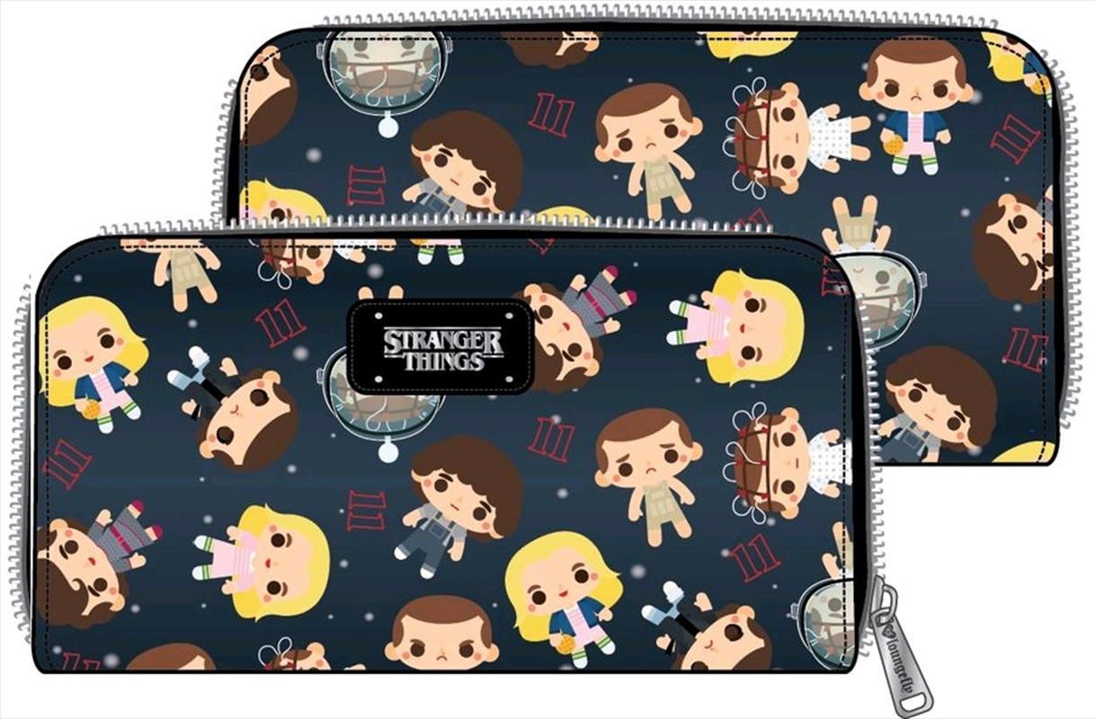 Stranger Things - Eleven Chibi Faux Leather Wallet | Apparel