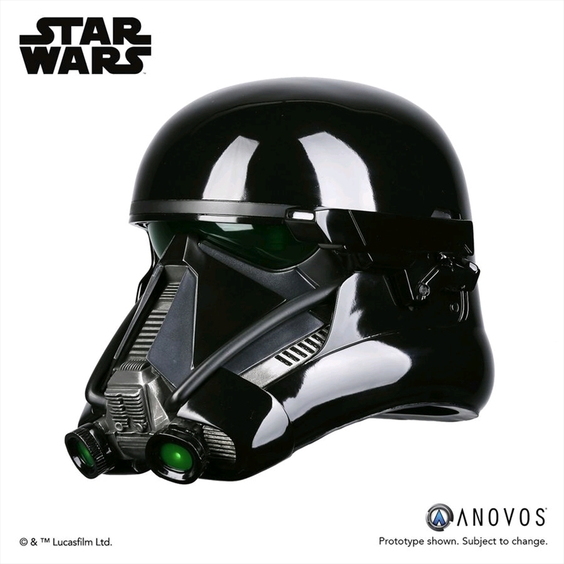 star wars rogue one death trooper specialist helmet. Black Bedroom Furniture Sets. Home Design Ideas