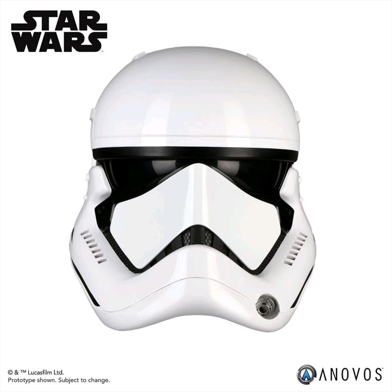 Star Wars - First Order Stormtrooper Episode VIII The Last Jedi Helmet   Collectable