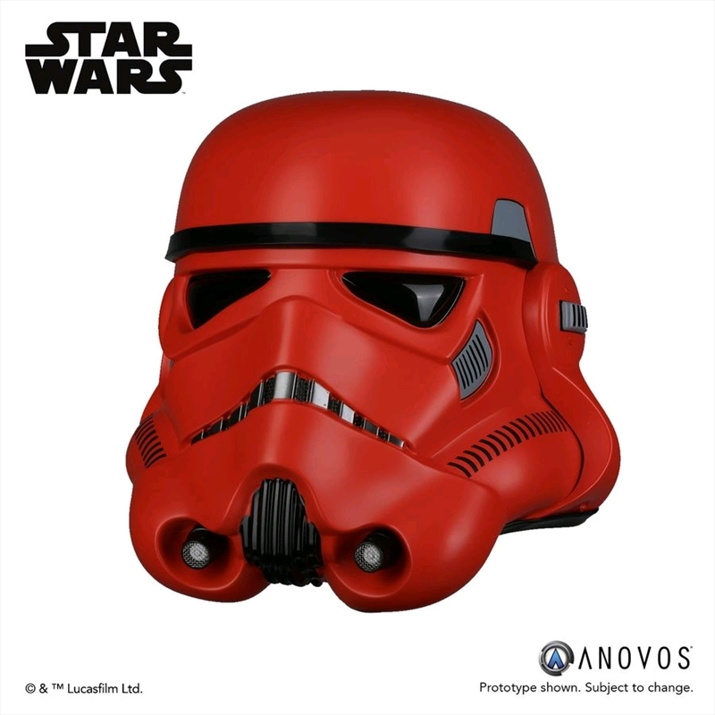 Star Wars - Stormtrooper Crimson Helmet | Collectable