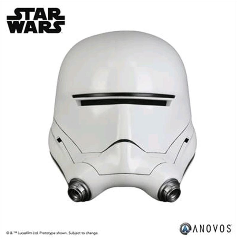Star Wars - First Order Flametrooper Helmet   Collectable