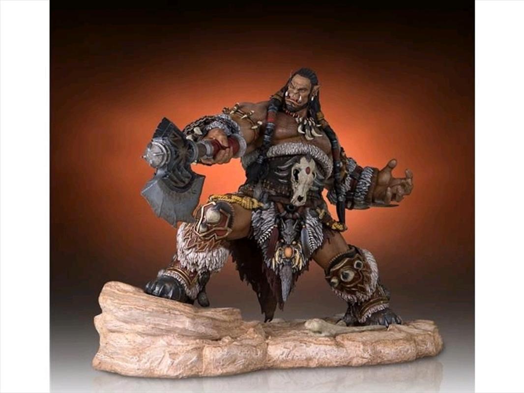 Warcraft Movie - Durotan 1:6 Scale Statue   Merchandise