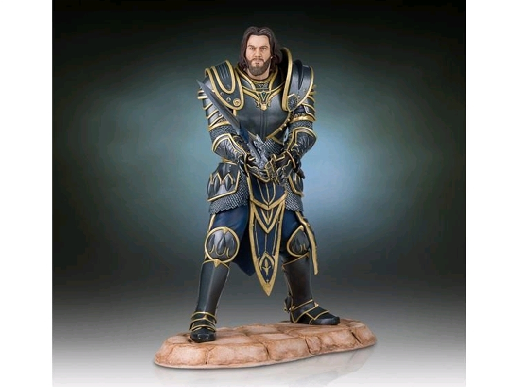 Warcraft Movie - Lothar 1:6 Scale Statue | Merchandise