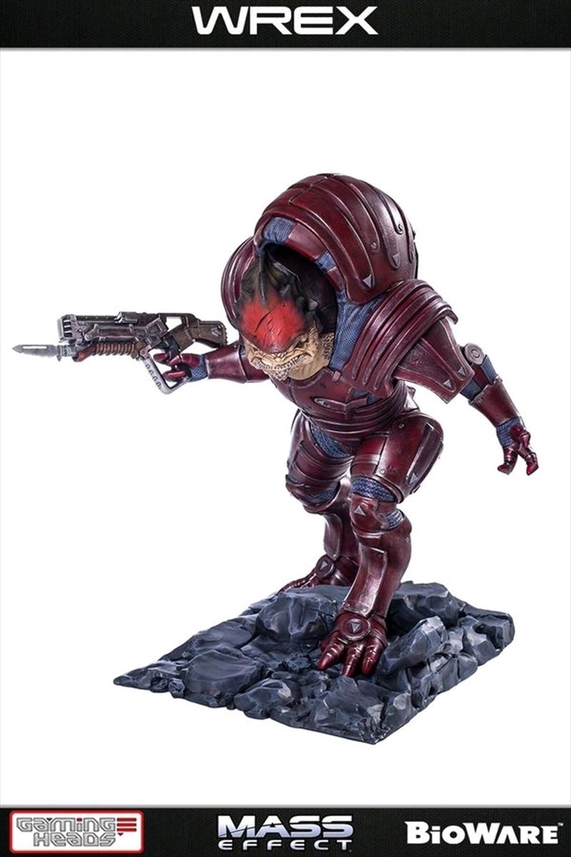 Mass Effect - Wrex 1:4 Scale Statue | Merchandise