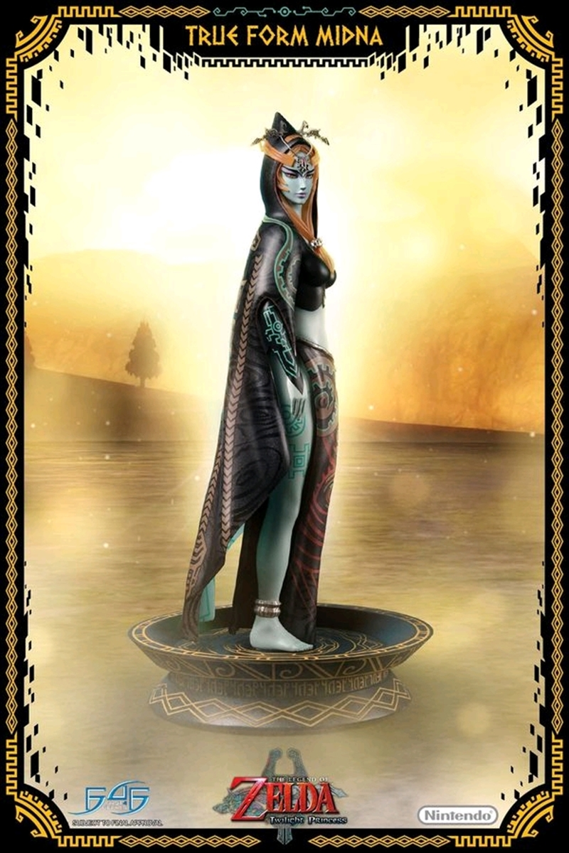 Legend of Zelda - True Form Midna Statue | Merchandise