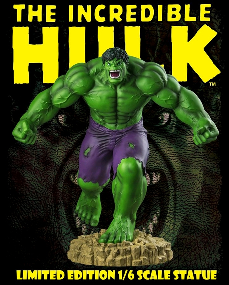 Hulk - The Incredible Hulk Limited Edition 1:6 Scale Statue | Merchandise
