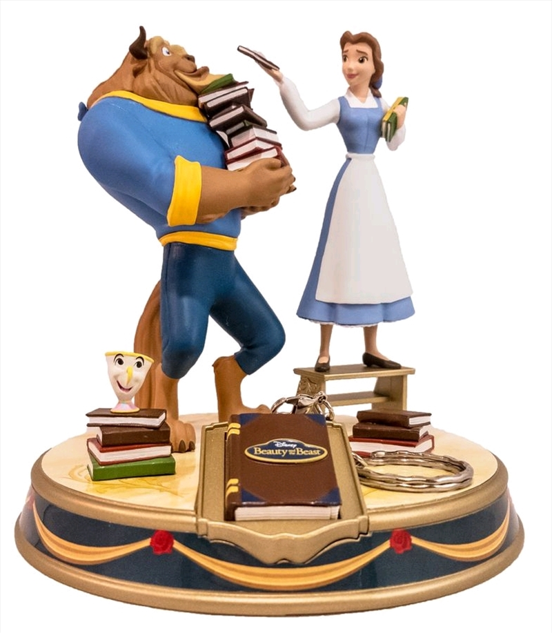 Beauty and the Beast - Belle & Beast Finders Keypers Statue   Merchandise