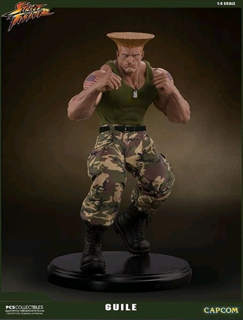 Street Fighter - Guile 1:4 Statue | Merchandise
