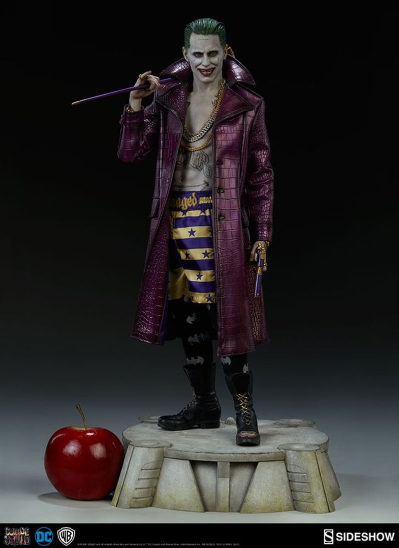 Suicide Squad - Joker Premium Format 1:4 Scale Statue   Merchandise