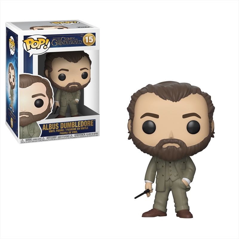 Fantastic Beasts 2: The Crimes of Grindelwald - Dumbledore Pop! Vinyl | Pop Vinyl