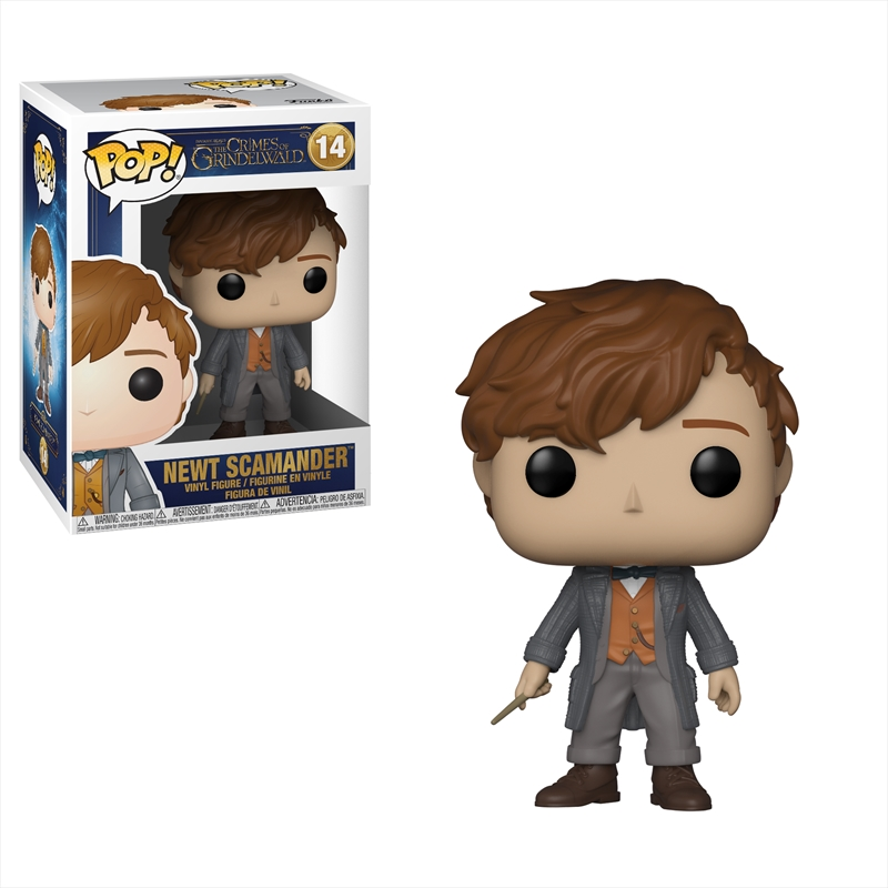 Fantastic Beasts 2: The Crimes of Grindelwald - Newt Pop! Vinyl | Pop Vinyl