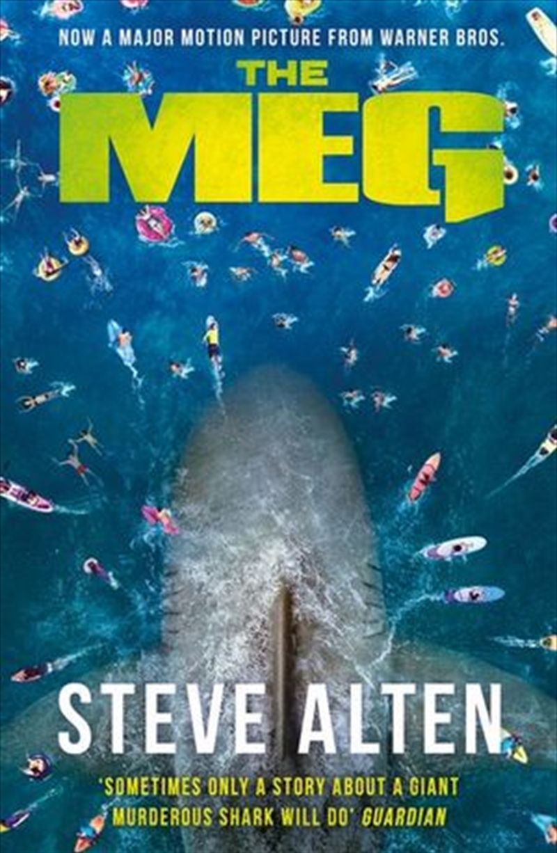 The Meg: Megalodon | Paperback Book
