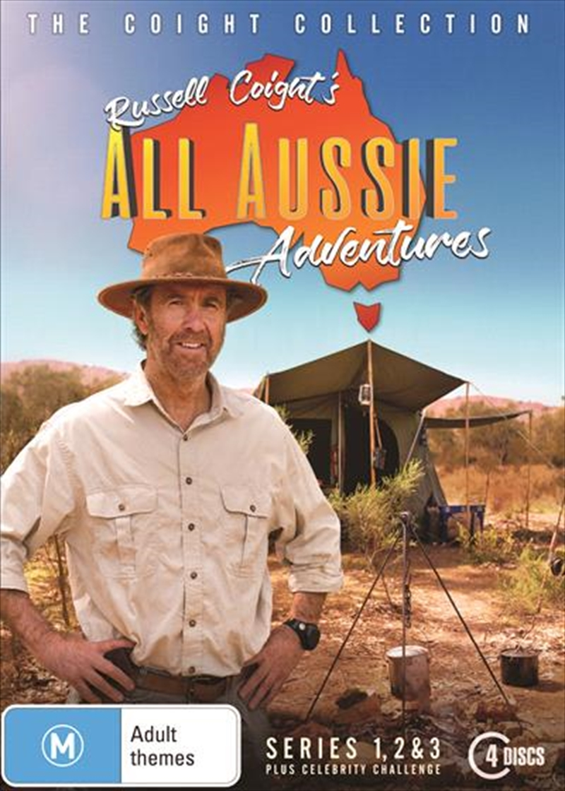 Russell Coight's All Aussie Adventures - Series 1-3 | + Celebrity Collection | DVD