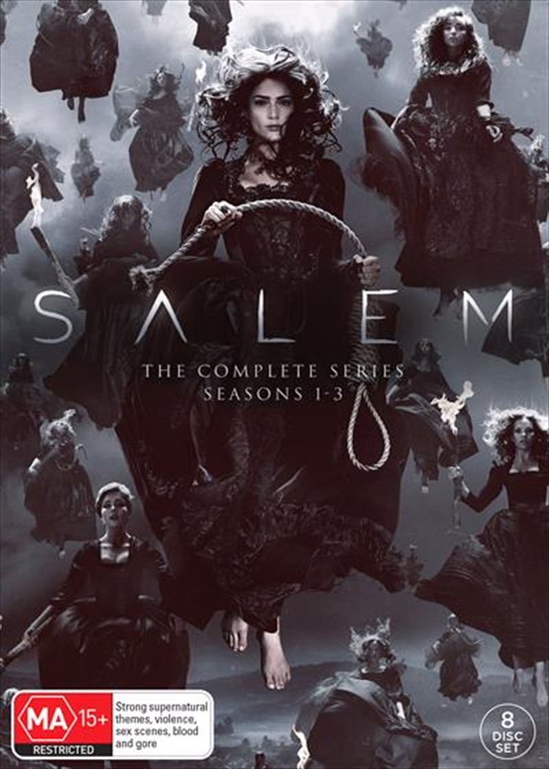 Salem - Season 1-3 | Complete Series | DVD