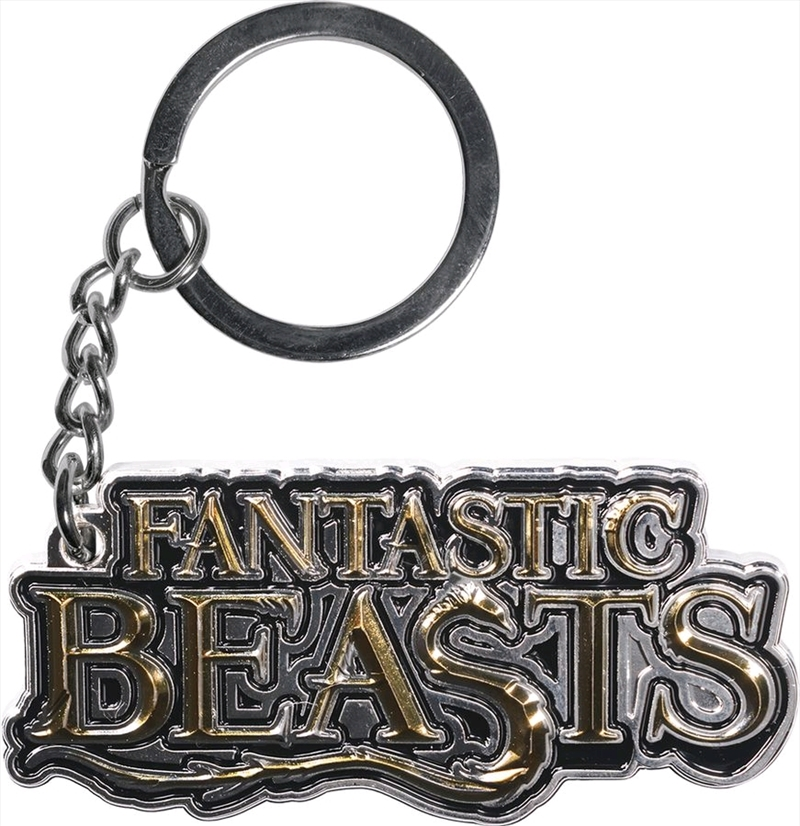 Fantastic Beasts and Where to Find Them - Logo Keychain | Accessories