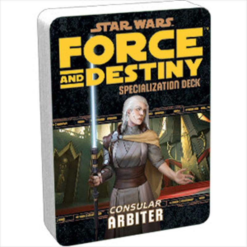 Star Wars RPG Arbiter Specialization Deck | Games