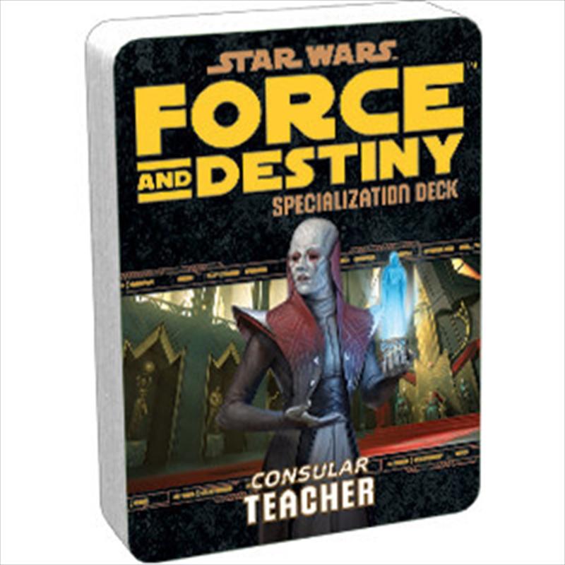 Star Wars RPG Teacher Specializaton Deck | Games
