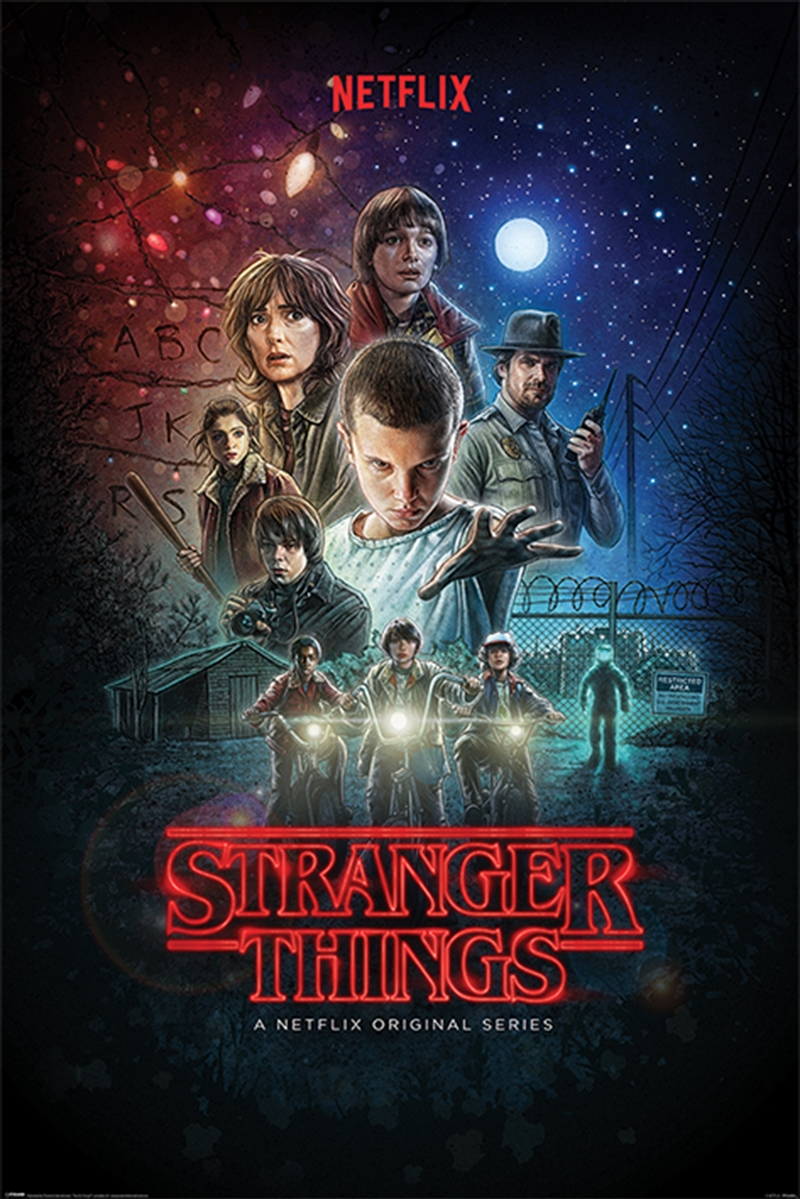 Stranger Things - One Sheet Poster | Merchandise