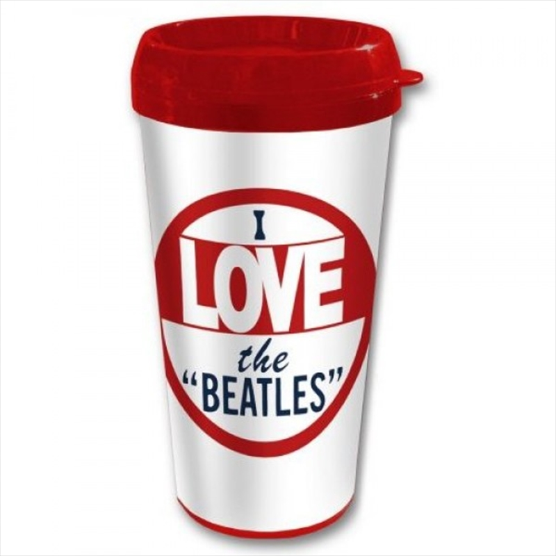 The Beatles I Love The Travel Mug | Merchandise