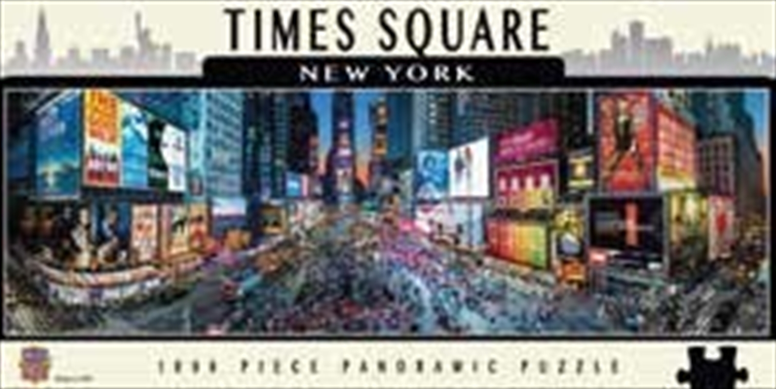Times Square Panoramic Puzzle 1000pc | Merchandise