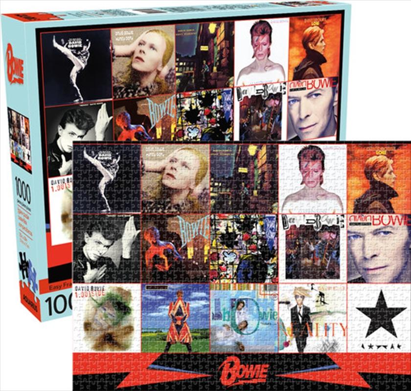 David Bowie Albums 1000 Piece Puzzle | Merchandise