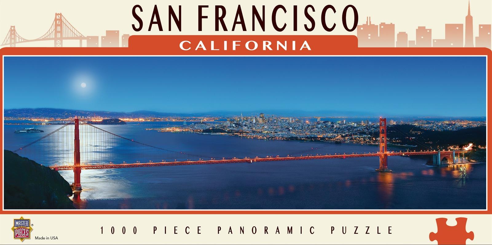 San Francisco Panoramic Puzzle 1000pc   Merchandise