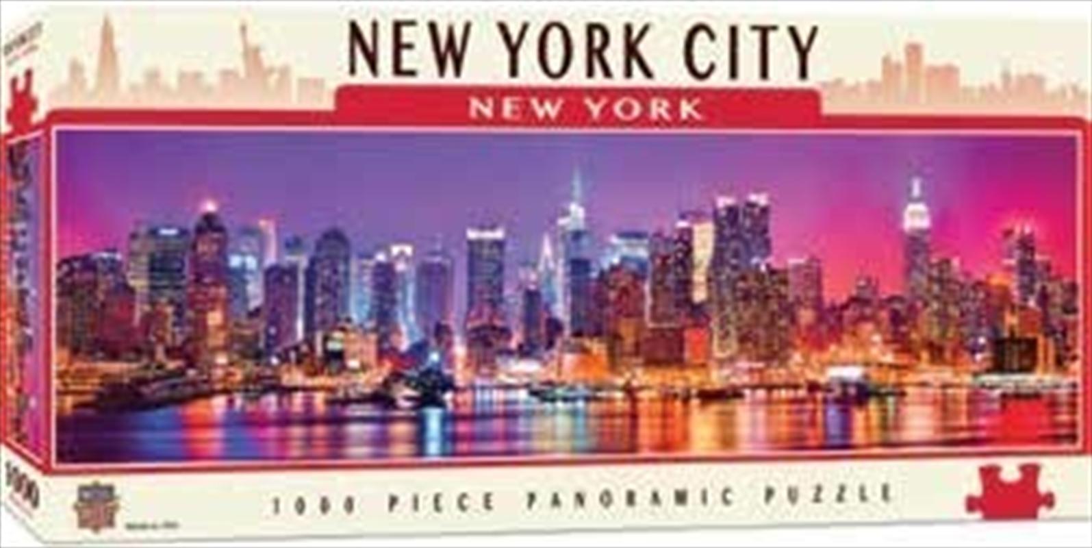 New York Panoramic Puzzle 1000pc | Merchandise