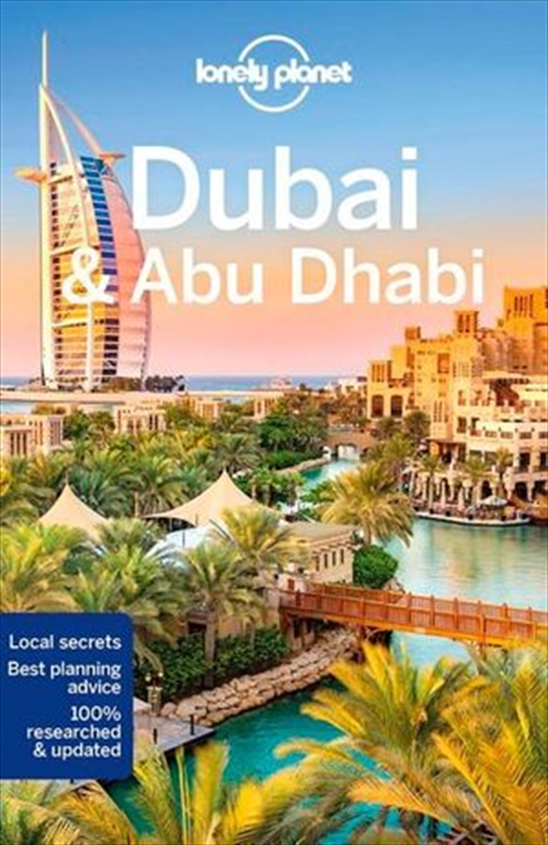 Dubai & Abu Dhabi Lonely Planet Travel Guide : 9th Edition | Paperback Book